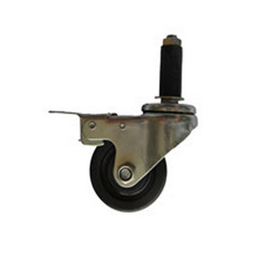 防静电插杆刹车聚氨酯、弹力胶轮